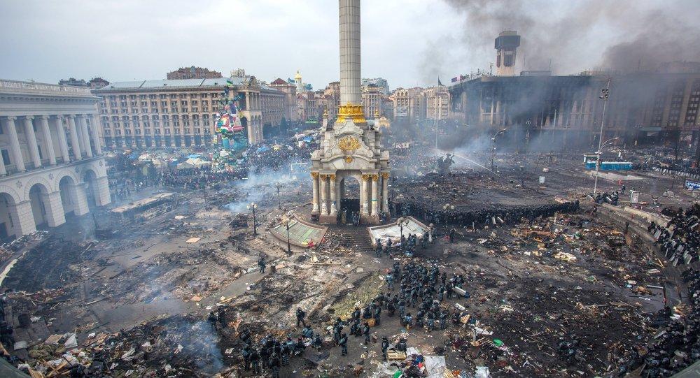 3 rocznica rozpoczęcia najkrwawszych walk na kijowskim Majdanie