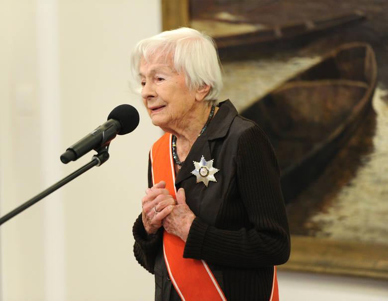 Danuta Szaflarska kończy dziś 102 lata!