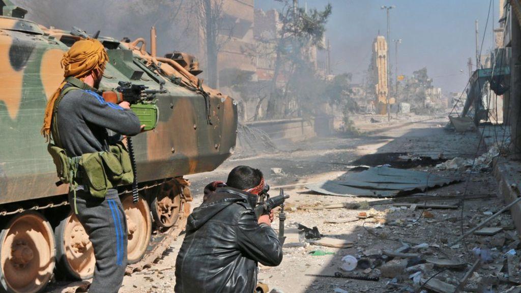 Syryjscy rebelianci wspierani przez Turcję zajęli miasto Al-Bab