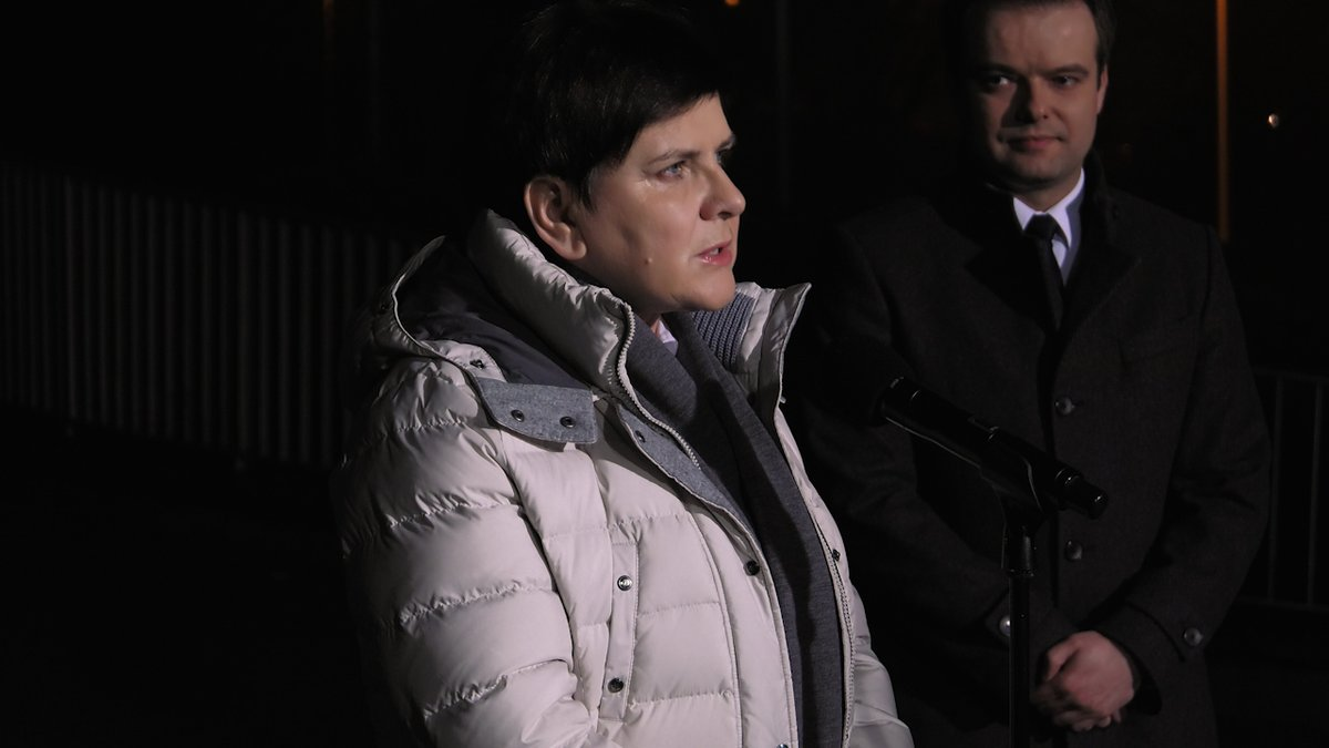 Premier Beata Szydło opuściła szpital