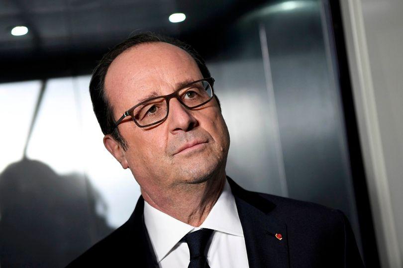 Strzelanina podczas przemówienia prezydenta Francji Francois Hollande'a