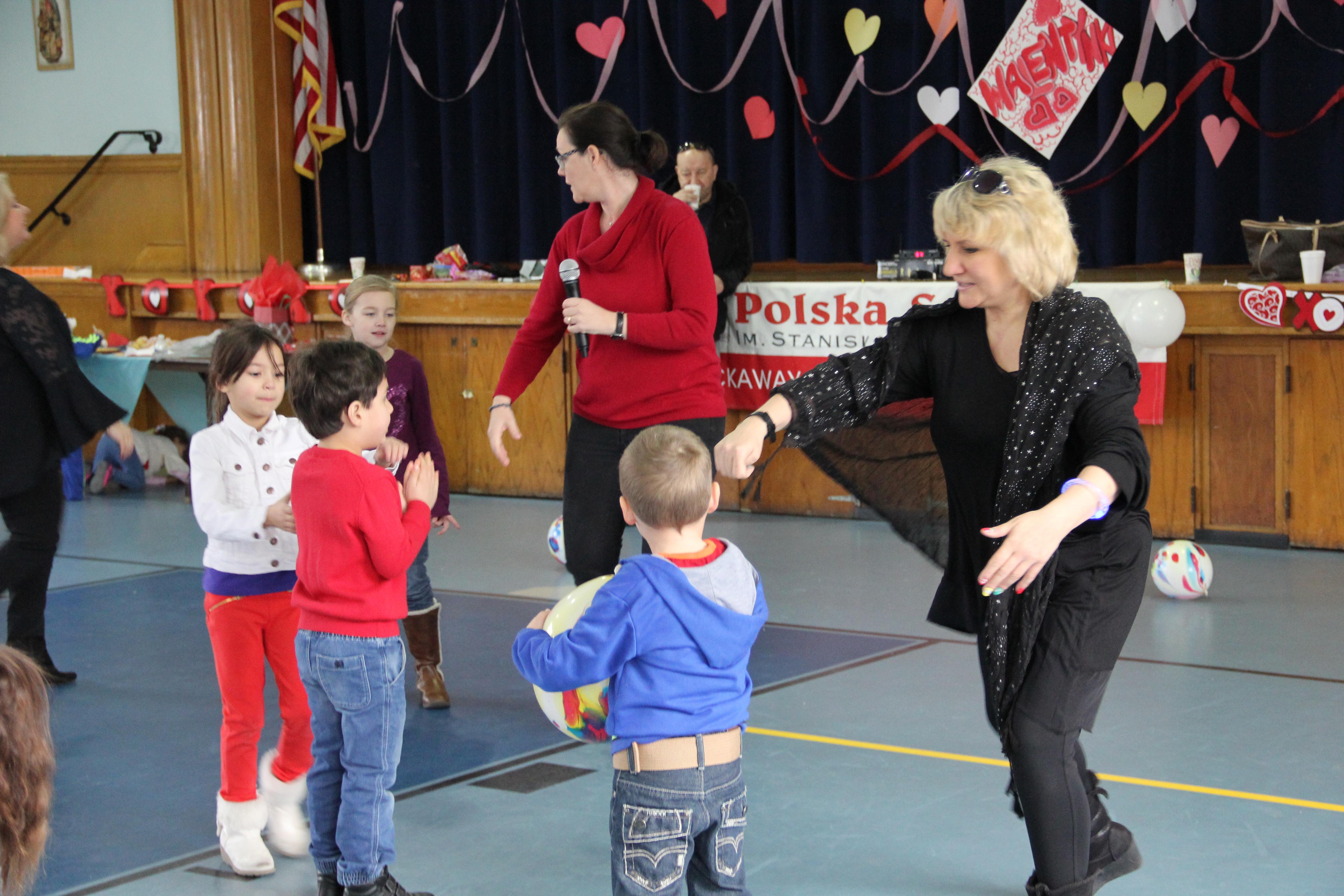 Walentynki dla dzieci w szkole na Rockaway