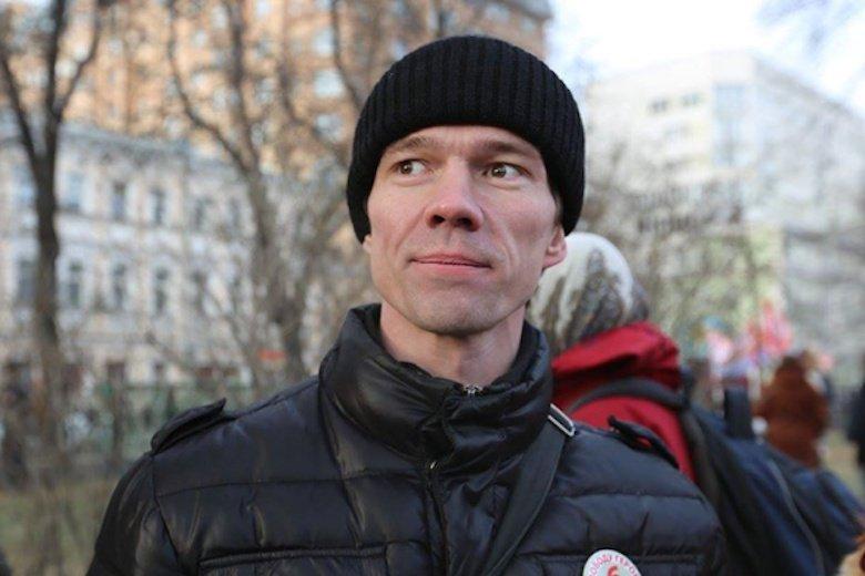 Rosyjski opozycjonista Ildar Dadin wyszedł na wolność