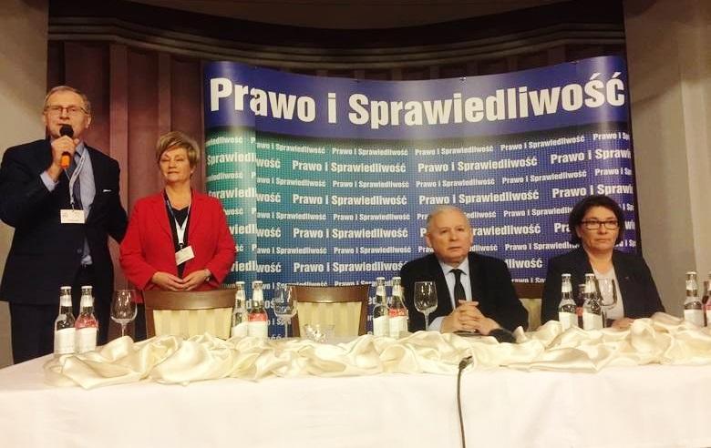 Jarosław Kaczyński odwiedził Bydgoszcz