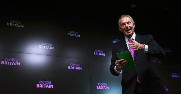 Tony Blair wzywa przeciwników Brexitu do mobilizacji