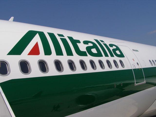 Strajk pracowników Alitalia