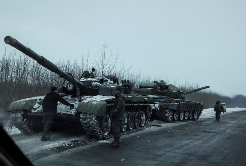 Tylko międzynarodowa pomoc pozwoli zakończyć konflikt w Donbasie