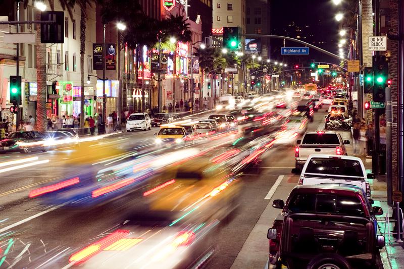 Los Angeles najbardziej zakorkowanym miastem świata