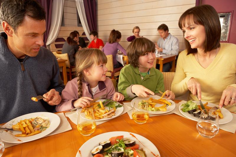 Zniżka w restauracji za dobrze wychowane dzieci