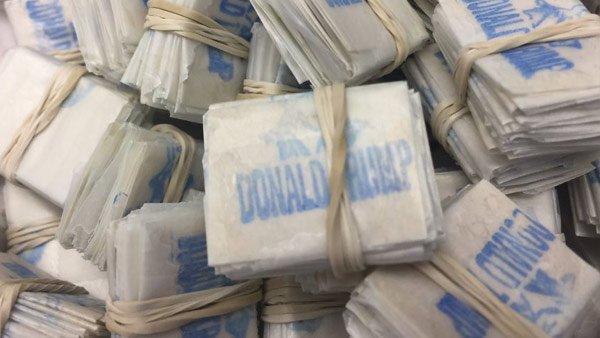 5 kilogramów heroiny o wartości przeszło miliona złotych na Lotnisku Chopina w Warszawie