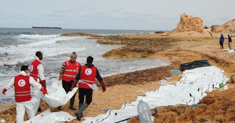 W Libii znaleziono metalowy kontener z nielegalnymi migrantami