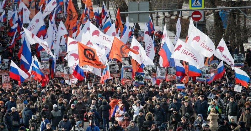 Rosyjska policja zatrzymała… 828 uczestników manifestacji w centrum Moskwy!