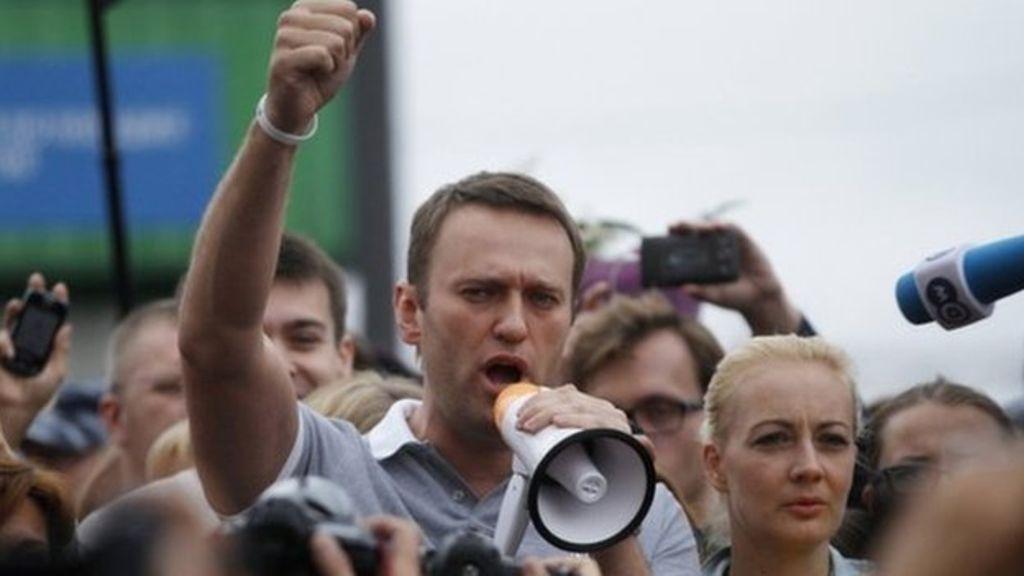 Nawalny: Putin się zdenerwował i tupie nogami