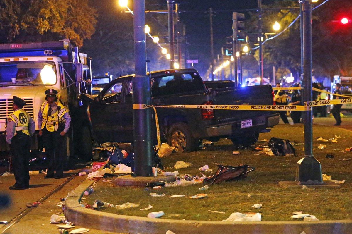 Tragedia w Nowym Orleanie – samochód wjechał w tłum, rannych jest 28 osób