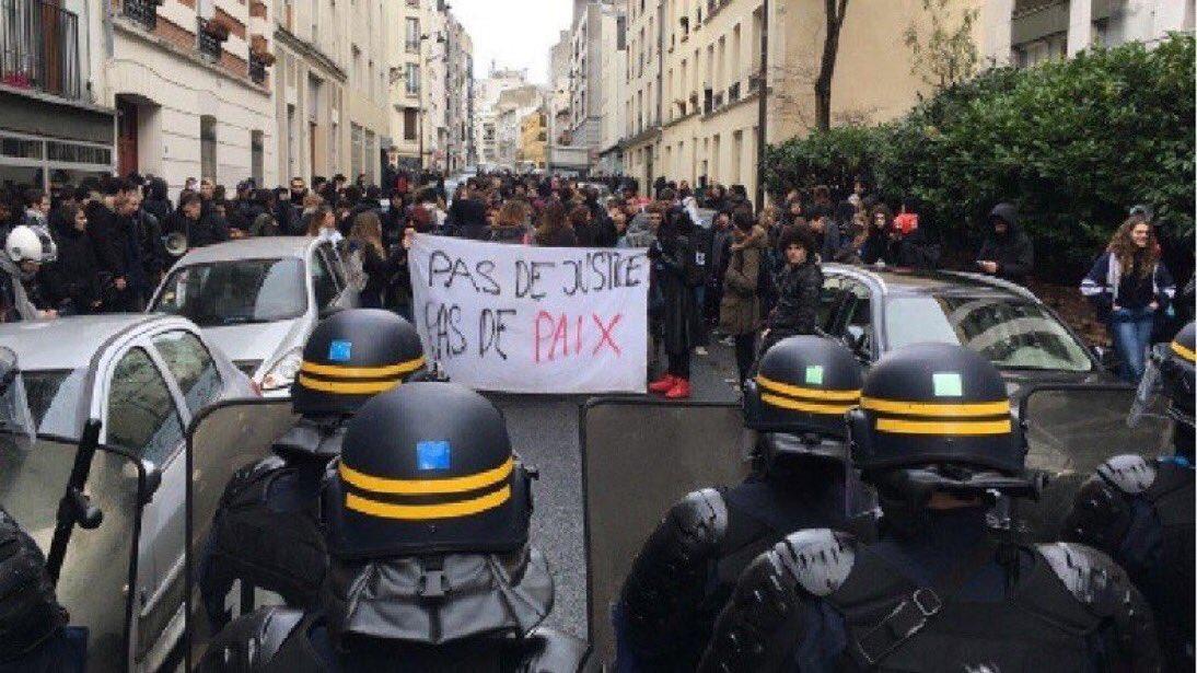 Paryż: Kolejne zamieszki z udziałem licealistów