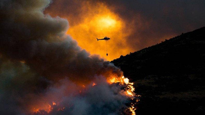 Pożary lasów w Nowej Zelandii