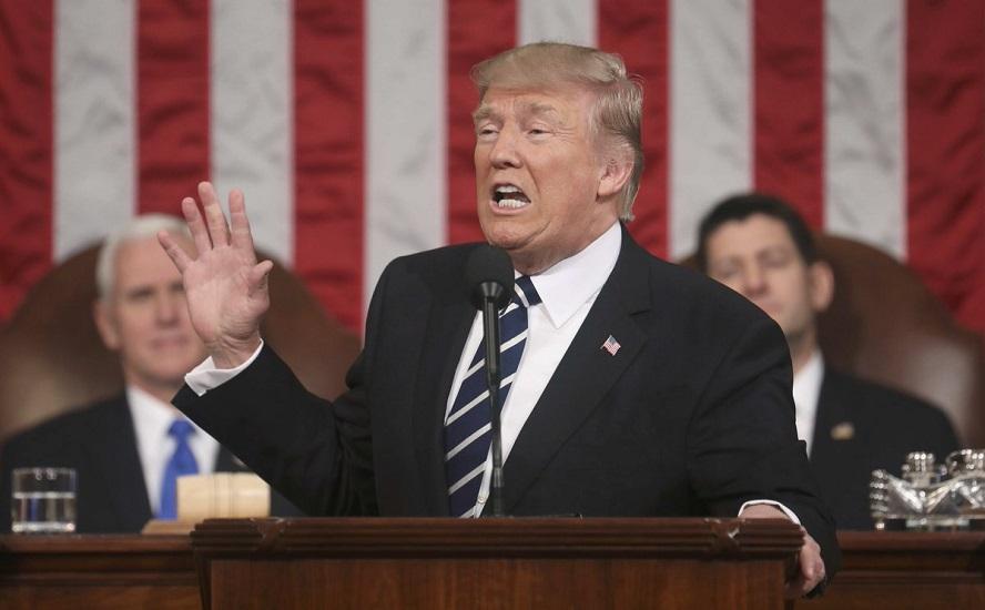 """""""Ameryka znów będzie wielka"""" – Donald Trump wygłosił orędzie w Kongresie"""