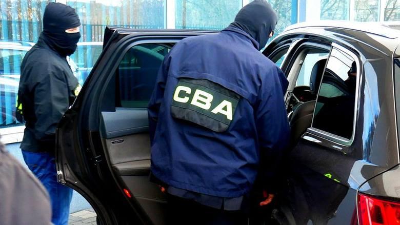 CBA zatrzymało 4 osoby, w tym syna senatora z Małopolski