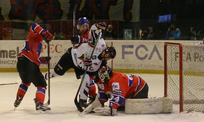 Zawodnik z ligi NHL trafił pierwszy w śląskim półfinale