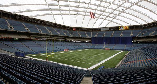 Nieudana próba wyburzenia stadionu Silverdome w Michigan (wideo)