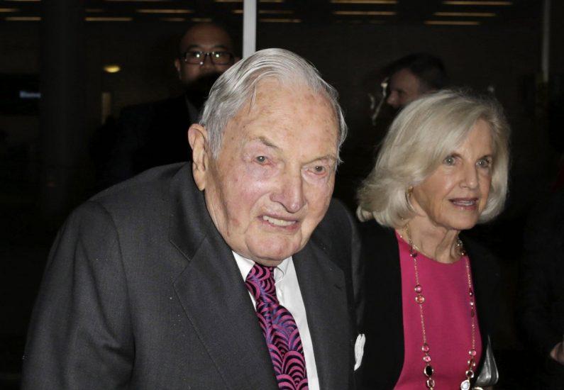 Zmarł amerykański miliarder Dawid Rockefeller