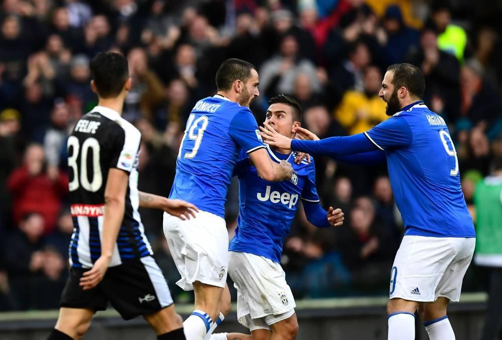 Piłkarze Juventusu Turyn mogą mówić o dużym szczęściu