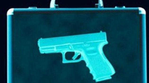 Elbląg – zatrzymana kobieta z bronią. Groziła 30-letniemu mężczyźnie i dwójce dzieci