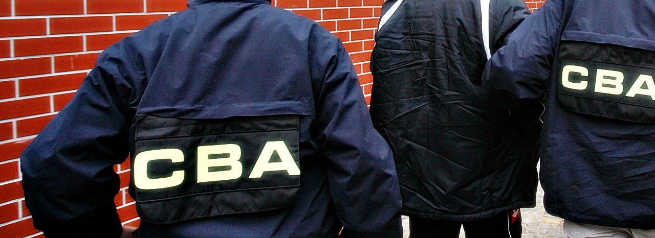 CBA zatrzymało Marka M., znanego handlarza roszczeniami