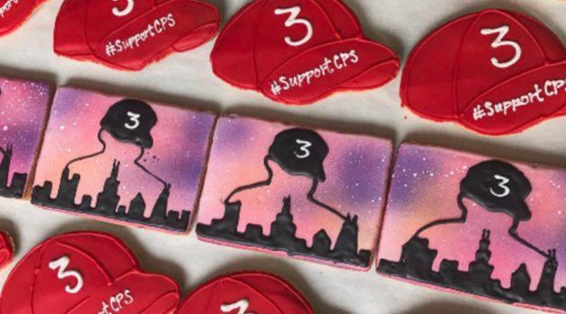 Piekarnia wspiera akcję zbiórki pieniędzy dla CPS i piecze ciasteczka Chance the Rapper