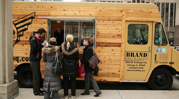 Na Daley Plaza rozpoczął się Food Truck