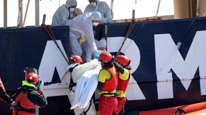 Tragedia na Morzu Śródziemnym – zatonęło ponad 200 migrantów