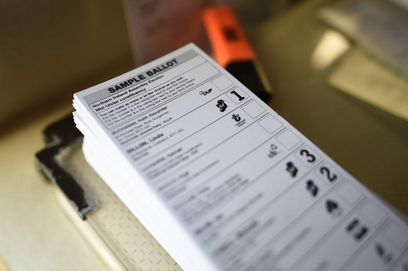 Wybory parlamentarne w Irlandii Północnej