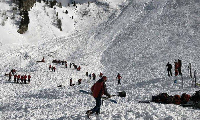 Lawina w austriackich Alpach – nie żyją trzy osoby