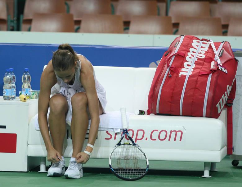 Wimbledon: Linette przegrała z Kvitovą, porażka Bertens