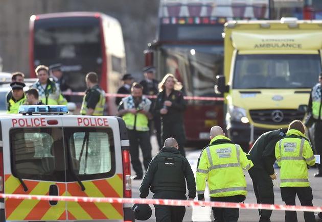 Bilans ataku w centrum Londynu