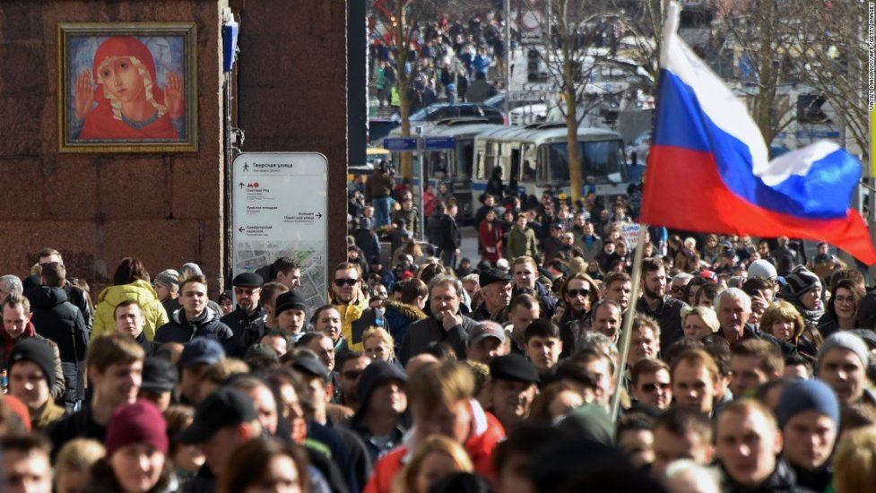 Rosyjska opozycja oskarżana o organizowanie zamieszek