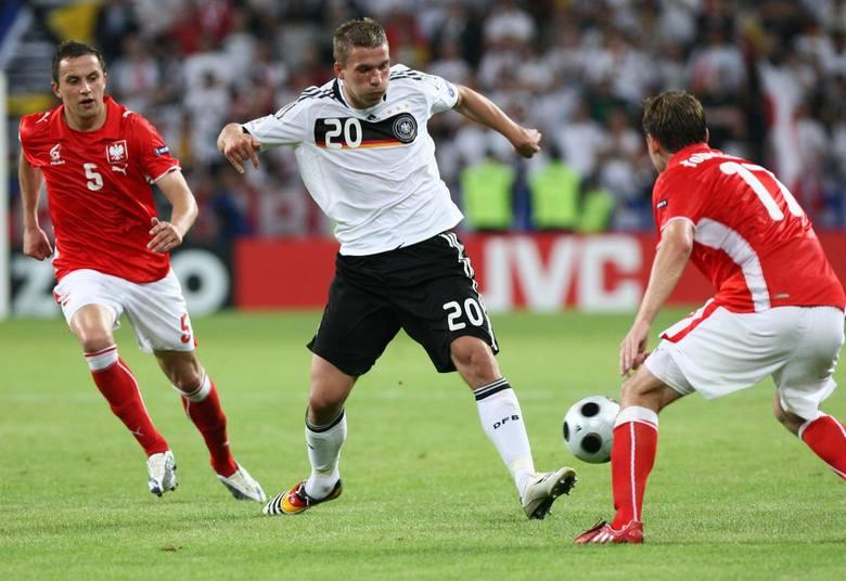 Wielkie pożegnanie Podolskiego z reprezentacją Niemiec. Strzelił gola Anglikom