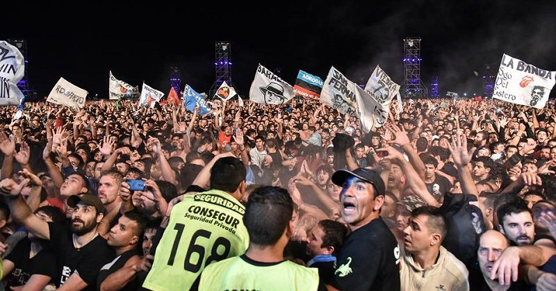 Argentyna: 2 osoby zginęły stratowane przez tłum podczas koncertu