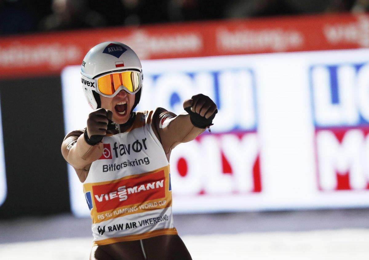 Kamil Stoch wygrał zawody Pucharu Świata w Vikersund!