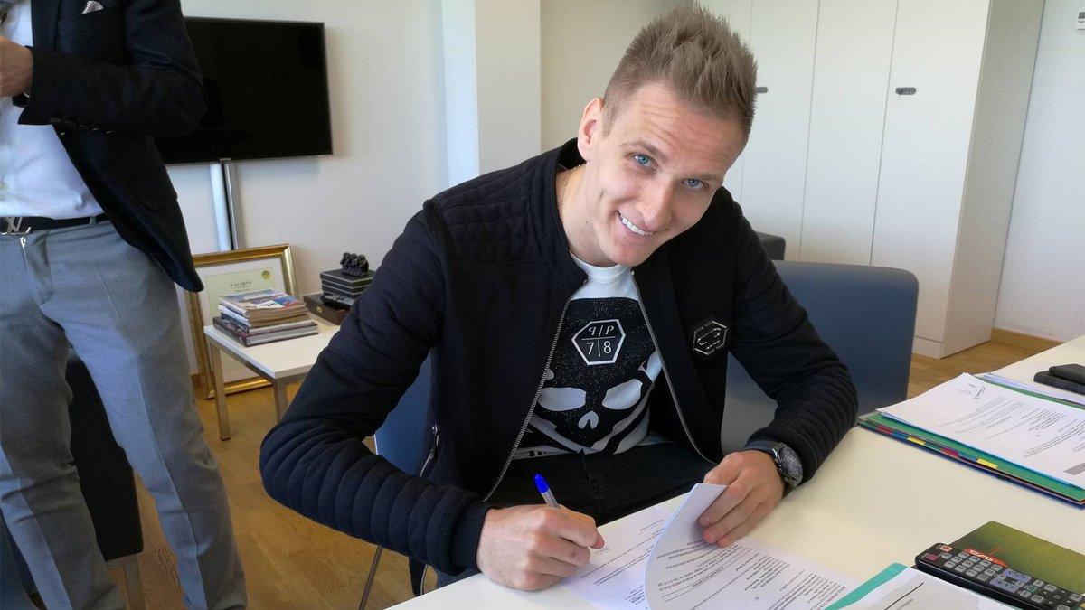 Łukasz Teodorczyk przedłużył kontrakt z Anderlechtem