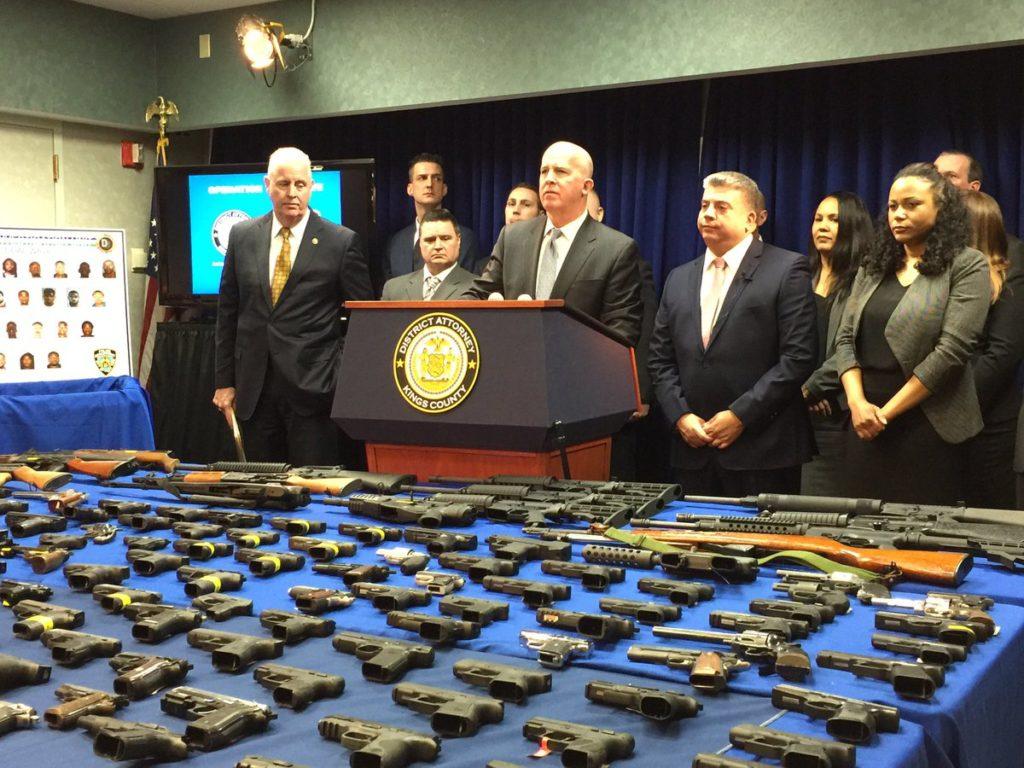 Największa wpadka przemytników broni