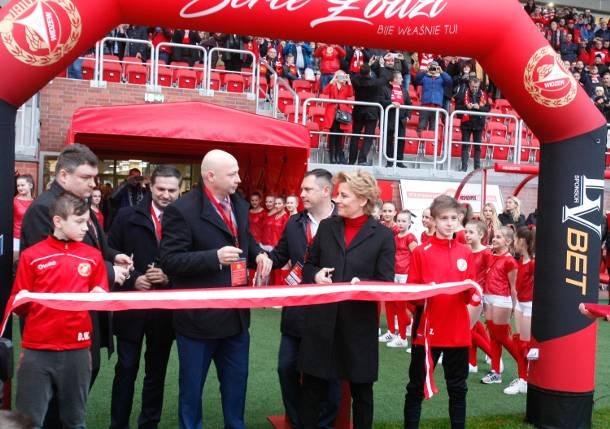 Ceremonia otwarcia nowego stadionu Widzewa