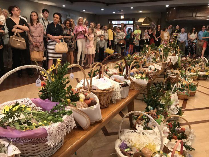 Konkurs Koszyczka Wielkanocnego w Domu Podhalan
