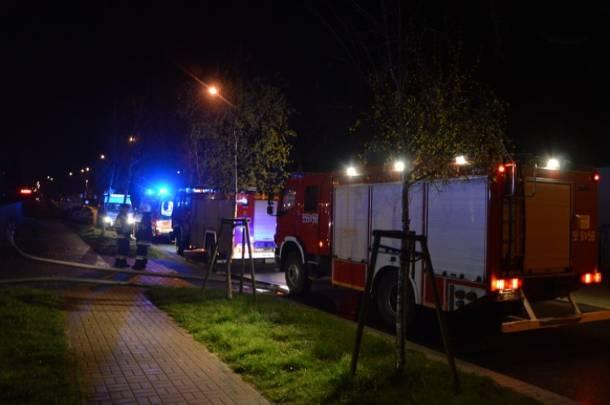 Pożar w Wejherowie – nie żyje 1 osoba