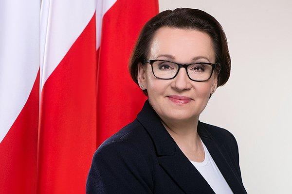 Życzenia minister Anny Zalewskiej z okazji Dnia Dziecka