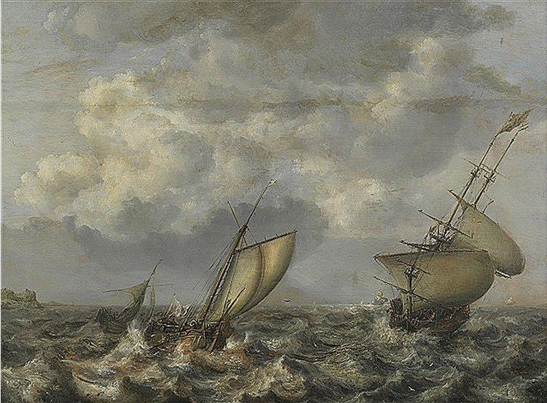Zaginiony w czasie wojny obraz Simona de Vlieger przekazany do Muzeum Narodowego