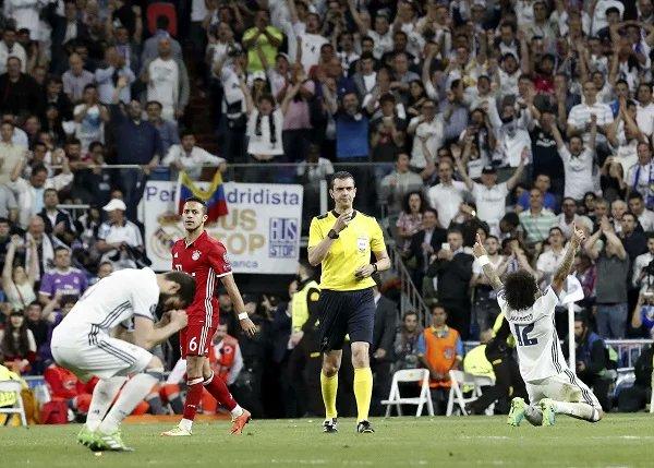 W Hiszpanii dyskusja o błędach sędziego meczu Real-Bayern