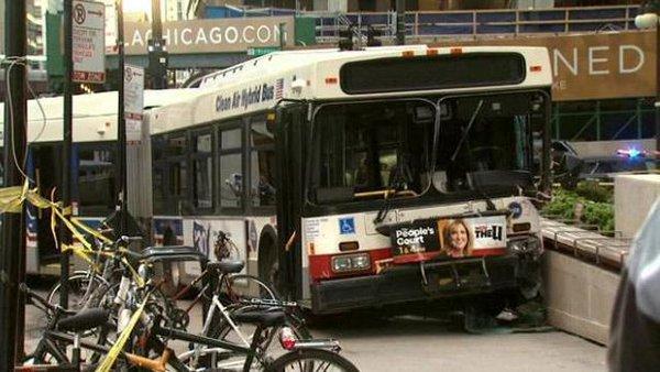 Ponad 500 wypadków z udziałem autobusów CTA