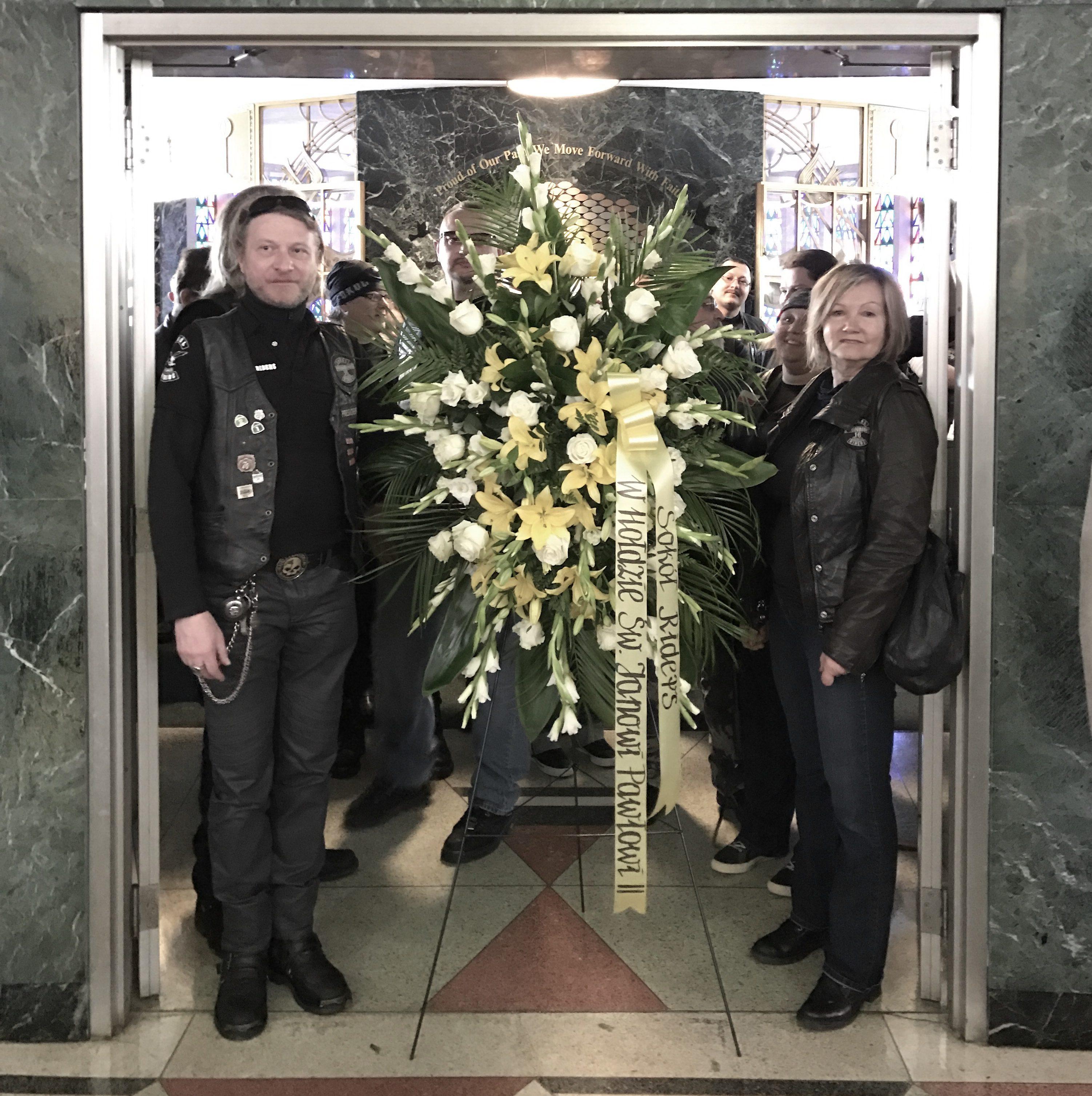 Przejazd motocyklistów ku pamięci świętego Jana Pawła II