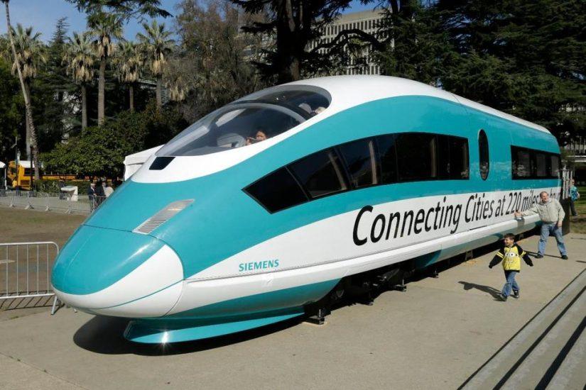 Sąd pozwala na budowę superszybkiej kolei LA-San Francisco